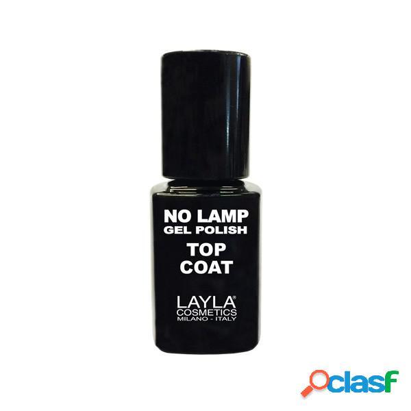 Layla no lamp gel top coat 10ml