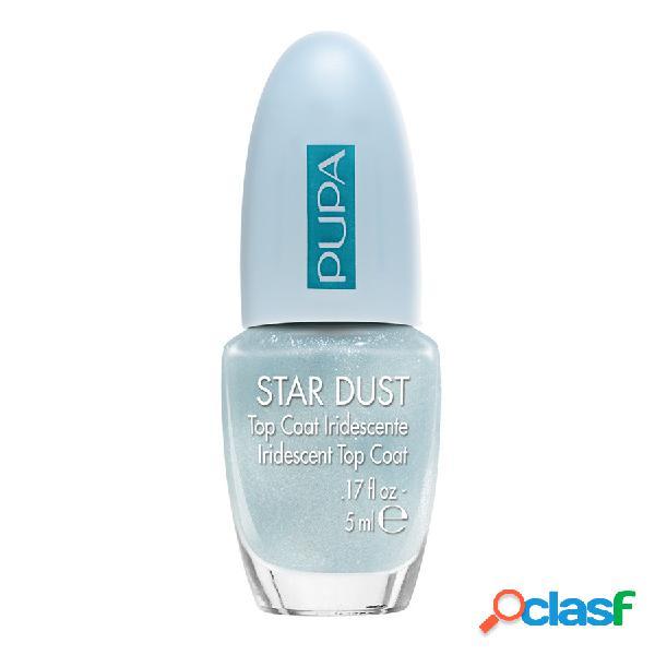 Pupa smalto star dust top coat - 010 sky blue