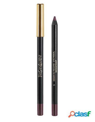 Yves saint laurent dessin du regard waterproof long lasting eye pencil - 05 bourgogne moiré