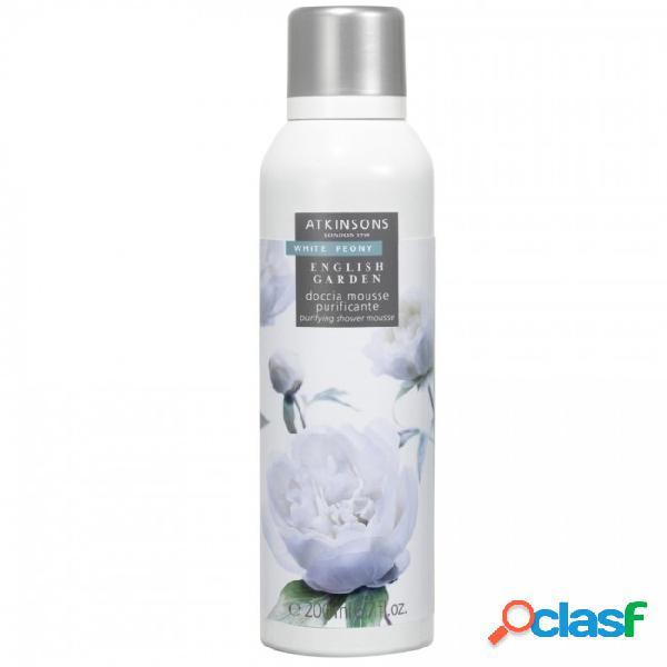 Atkinsons english garden white peony shower mousse 200ml