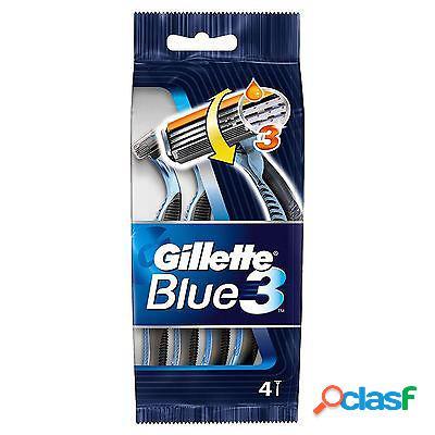 Gillette rasoio usa e getta blue3 4pz