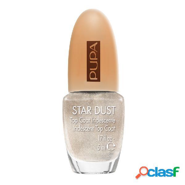 Pupa smalto star dust top coat - 009 white gold