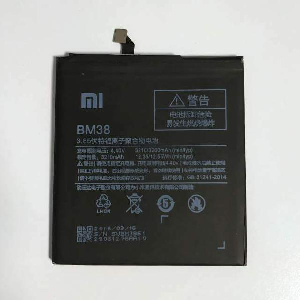 Batteria originale xiaomi bm38 per mi4s da 3260mah