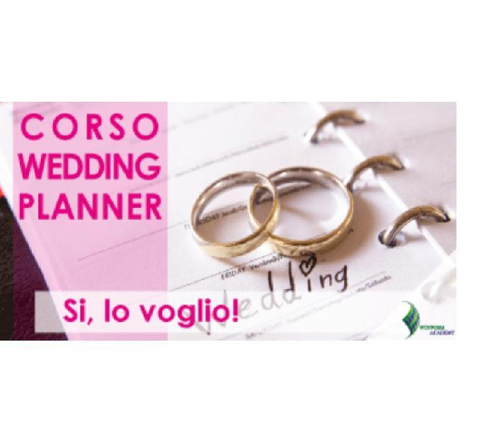 Corso di wedding e party planner online