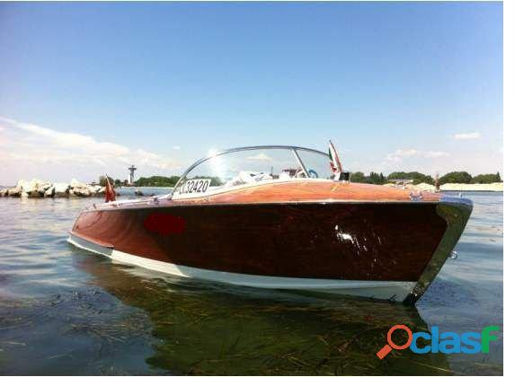 Cantiere colombo runaboat 1960 restauro completo