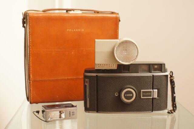 Rara polaroid pathfinder 110b land camera 110 b vintage