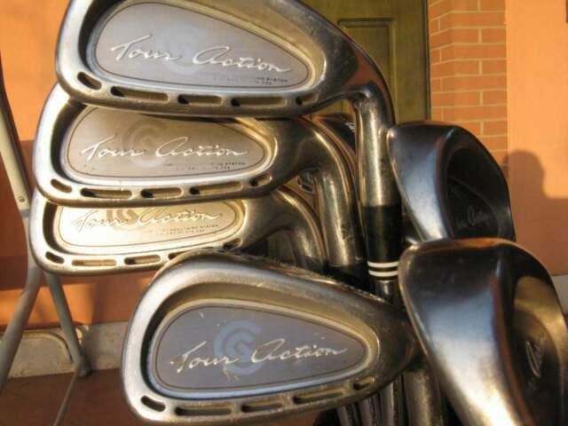 Set mazze golf cleveland taylor made bettinardi