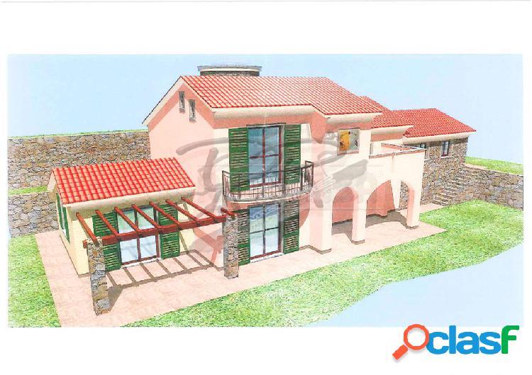 Progetto approvato per villa con giardino