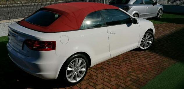 Audi a3 cabrio 1.6 tdi cr -s-line - capotte bordo' - rata