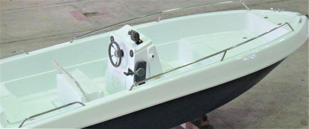 Barca a motore nuovo fisherman 5.8 in produzione