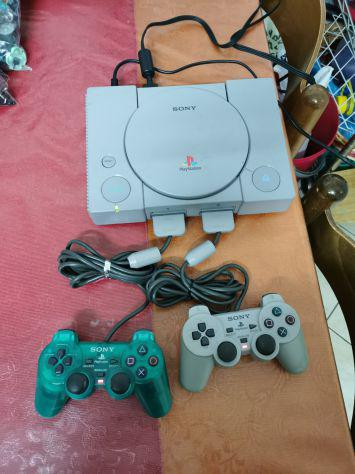 Console sony playstation 1 psx ps1 due controller originali