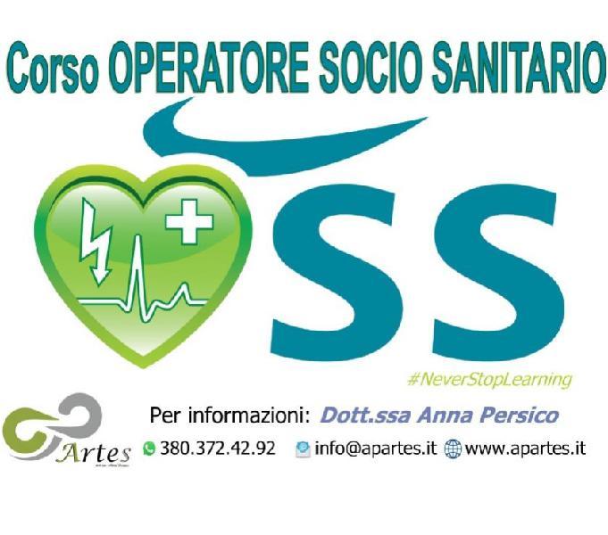 Corso operatore socio sanitario (o.s.s.)