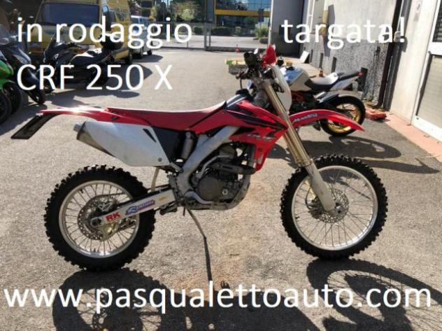 Motos-bikes honda 4 t crf 250 x avv elett. e targata rif.