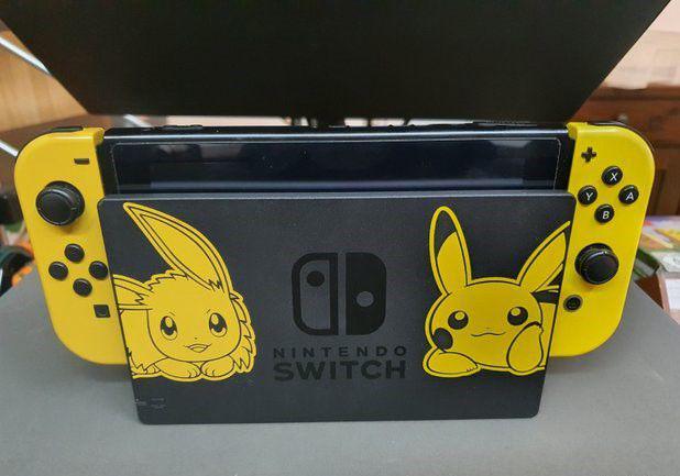 Nintendo switch edizione pokemon con giochi