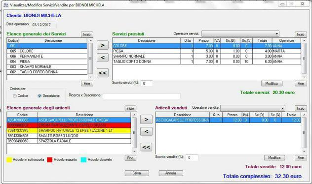 Programma software gestione parrucchieri e centri estetici