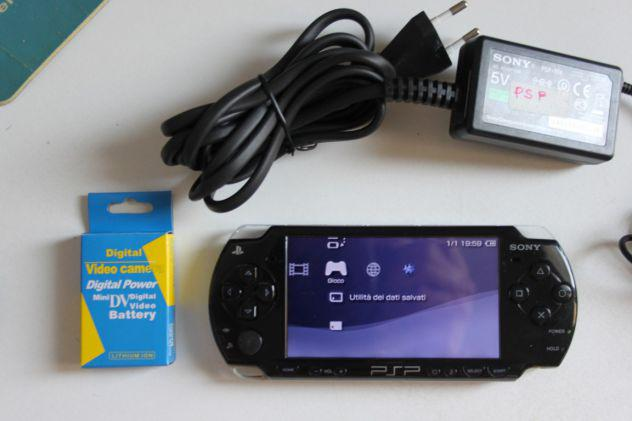 Sony playstation psp 2004 mod cfw 6.60 giochi emulatori app