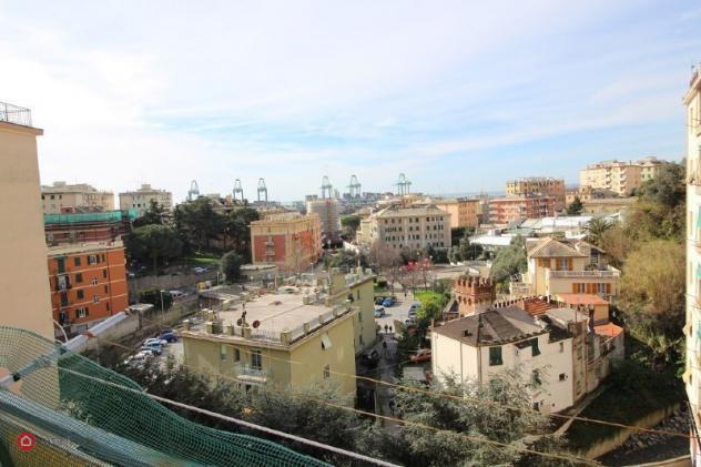 Appartamento di 122mq in via della torrazza a genova
