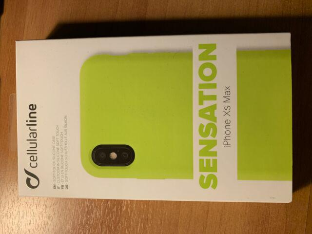 Cover xs max cellular line verde lime