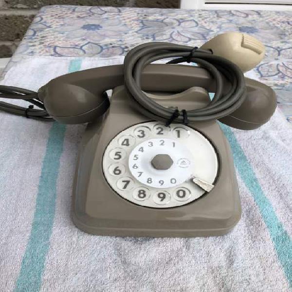 Telefono a disco siemens vintage