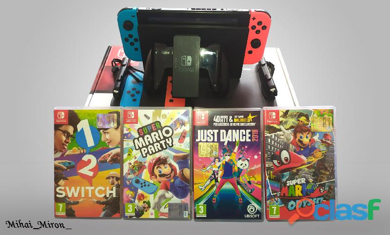 Nintendo switch + 4 giochi