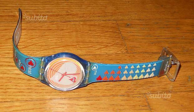 6 orologi swatch originali e vintage