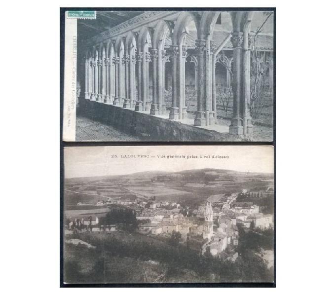 France francia_1910~1911 ca 2 cartoline fp fr#01