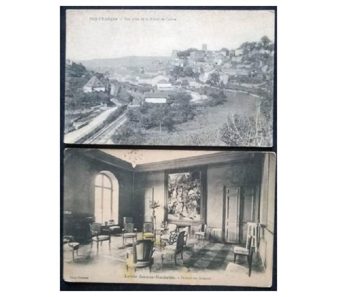 France francia_1913 ca 2 cartoline bn fp fr#02