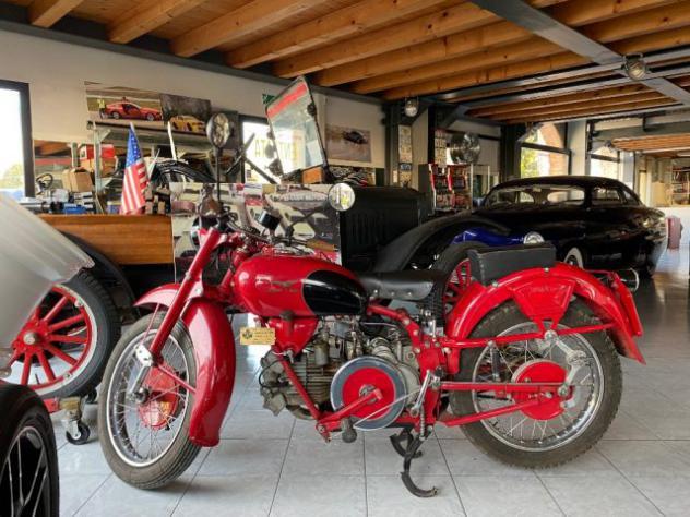 Motos-bikes moto guzzi falcone turismo 500 1954 iscritta fmi