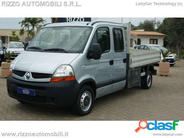 Renault master doppia cabina 7 posti 2.5 dci 120cv