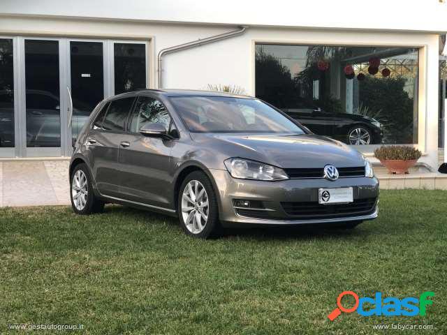 Volkswagen golf 1.6 tdi 110 cv dsg 5p. highline bluemotion technology