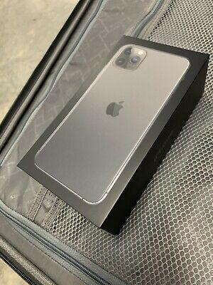 Apple iphone 11 pro max 256gb space gray nuovo