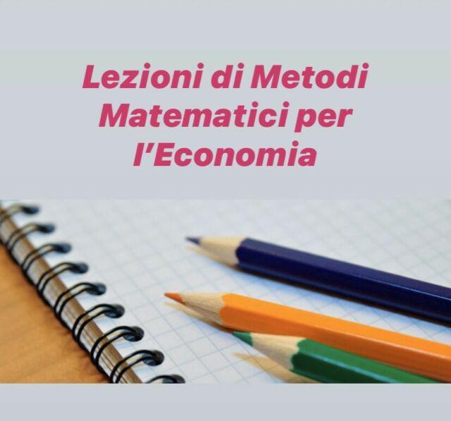 Lezioni e ripetizioni di matematica e metodi