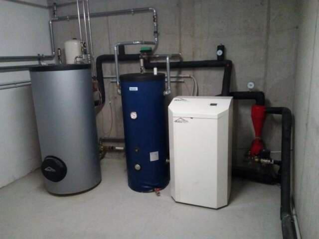 Pompa di calore acqua. acqua
