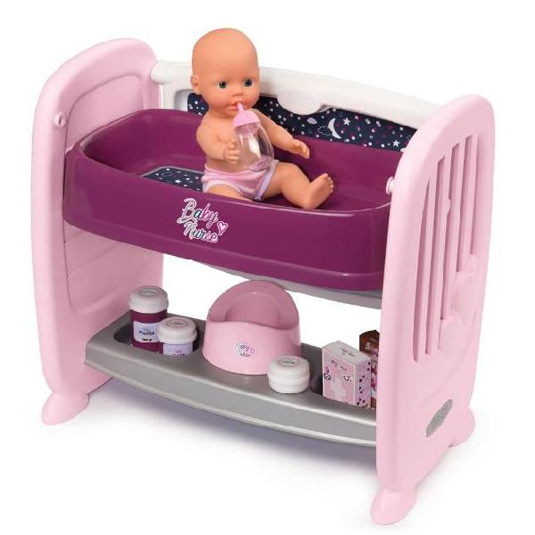 Smoby culla per bambola baby nurse