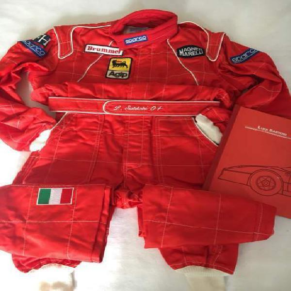 Suit sparco ufficiale ferrari f40 team michelotto vintage