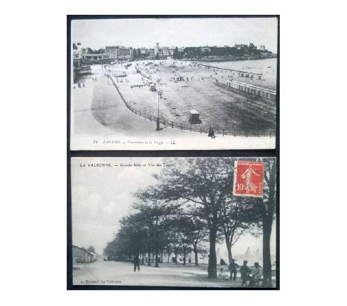 France francia_1918~1919 ca 2 cartoline fp fr#03