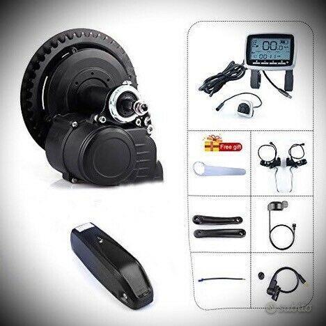 Kit motore+batteria bicicletta elettrica 250w