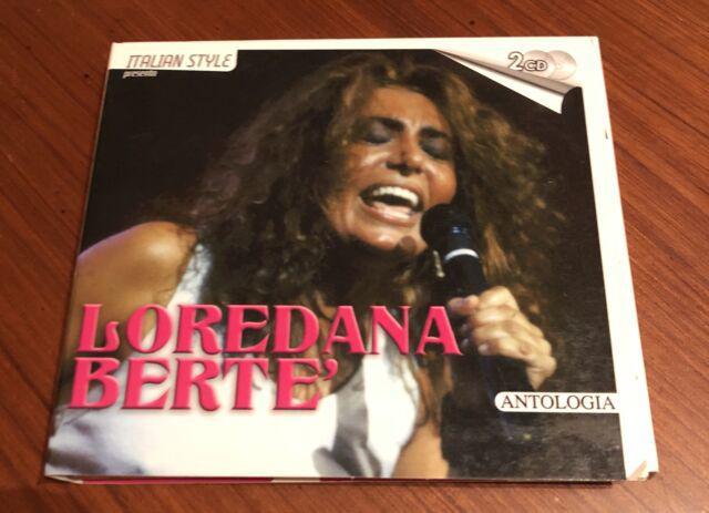 "Vendo 2 cd. loredana bertè ""antologia"""