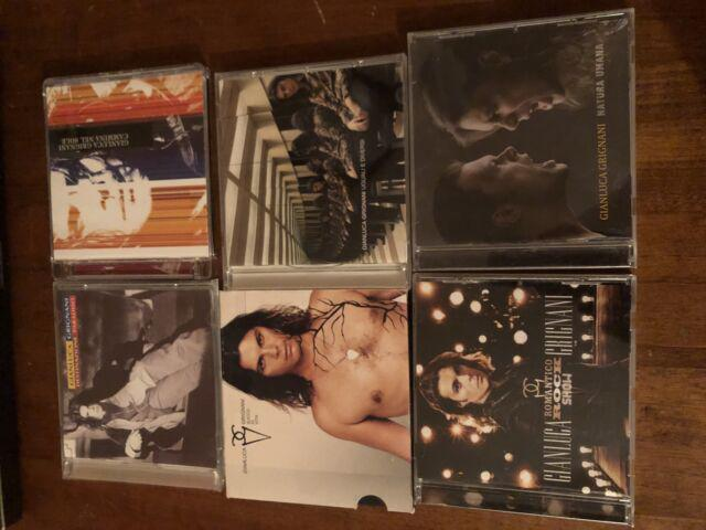 Vendo cd usati singolarmente di gianluca grignani