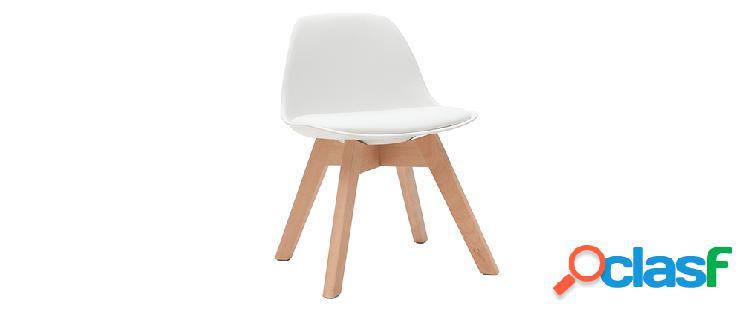 Sedia design piedi legno 【 OFFERTES Maggio 】 | Clasf