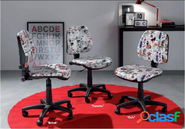 Sedia ufficio alfa fantasy