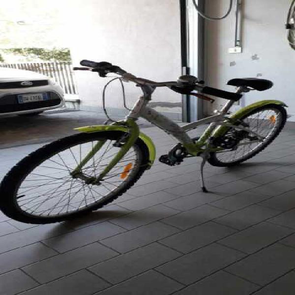 Bicicletta bitwin 24 pollici 6 rapporti mountain bike da