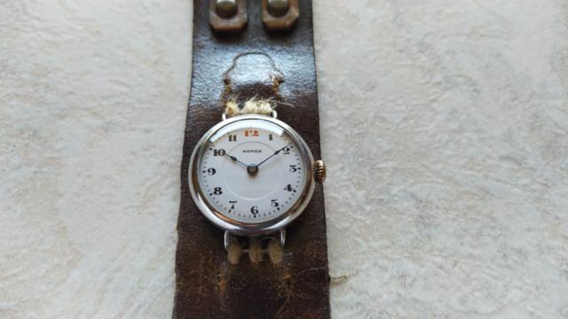 Orologio wengia anni 30/40