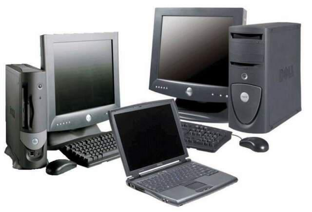Ritiro gratis computer fissi e portatili rotti o disuso