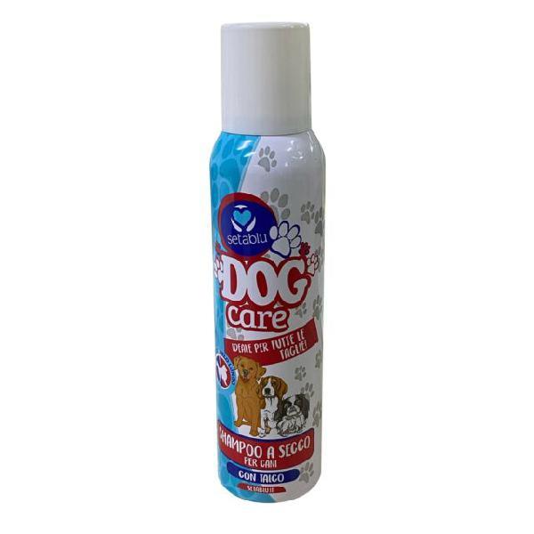 Setablu dog care shampoo a secco per cani 59045 talco per