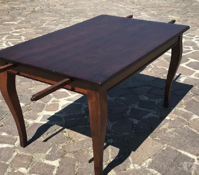 Tavolo antiquariato in legno massello