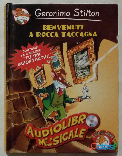 Benvenuti a rocca taccagna. cd audio di geronimo stilton; editore: piemme (15 luglio 2004) nuovo