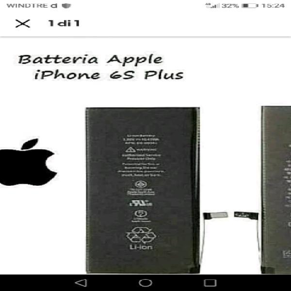 Batteria nuova iphone 6 s plus