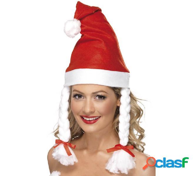 Deluxe Babbo Natale Cappello Natale Babbo Natale Costume IDEA REGALO NUOVO