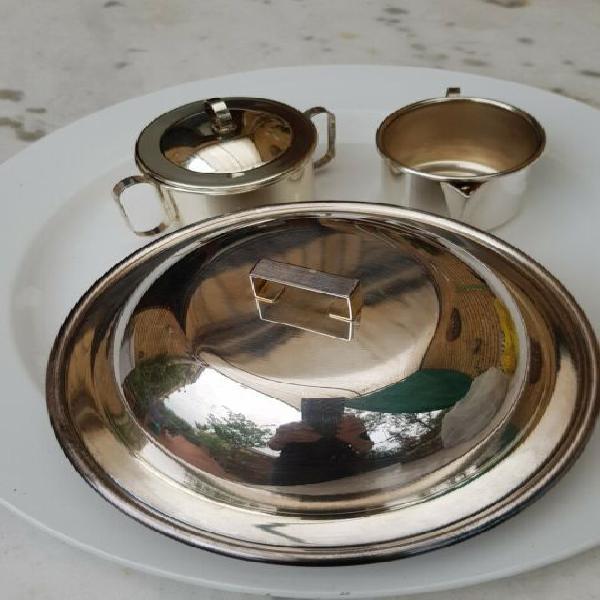 Servizio te' in silver design greggio/olri 6 pezzi